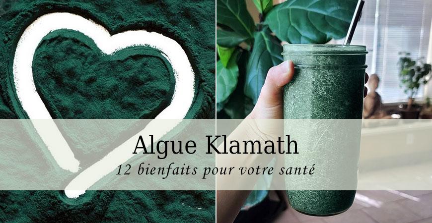 Algues Klamath: 12 avantages incroyables pour votre santé
